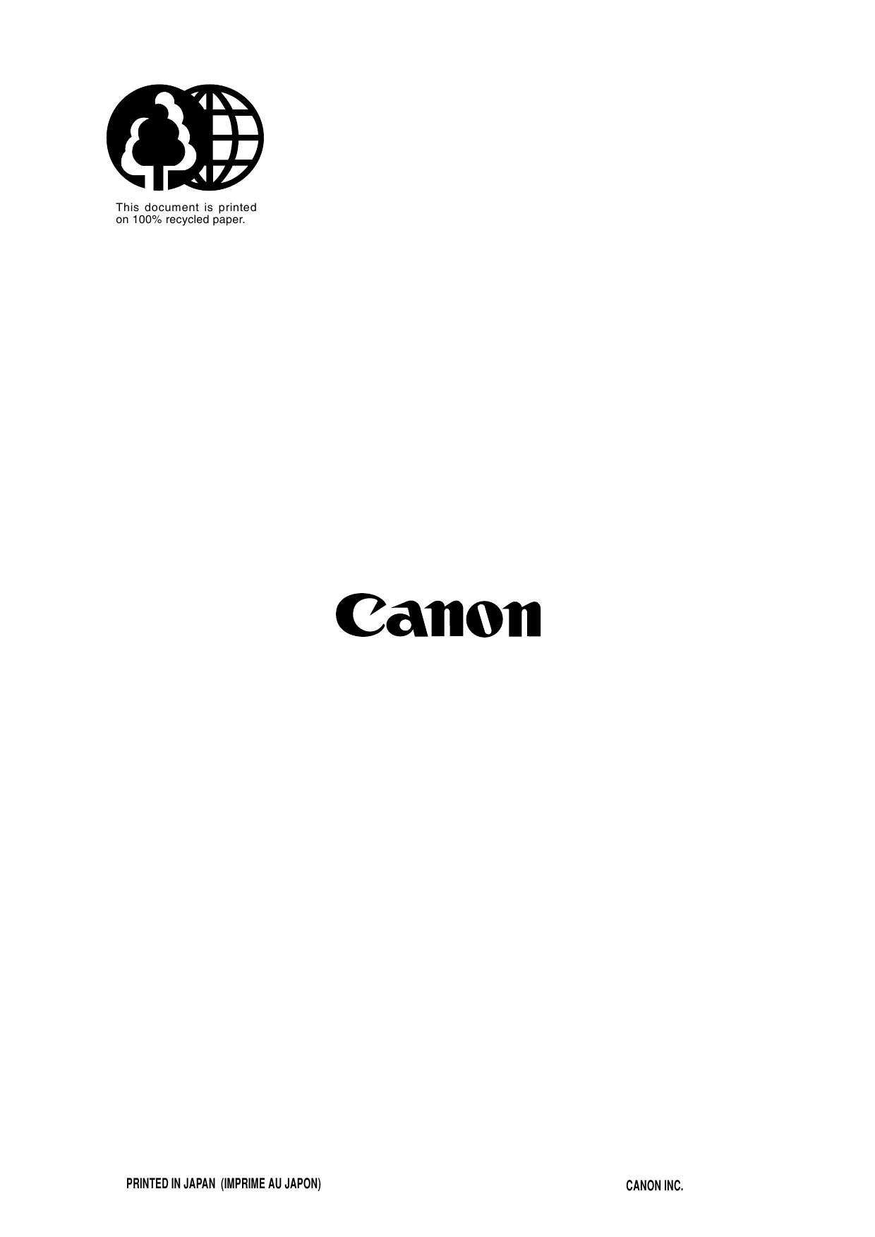 Canon PIXUS S6300 Parts Catalog Manual-6